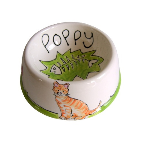 Small Personalised Dog Bowl 7
