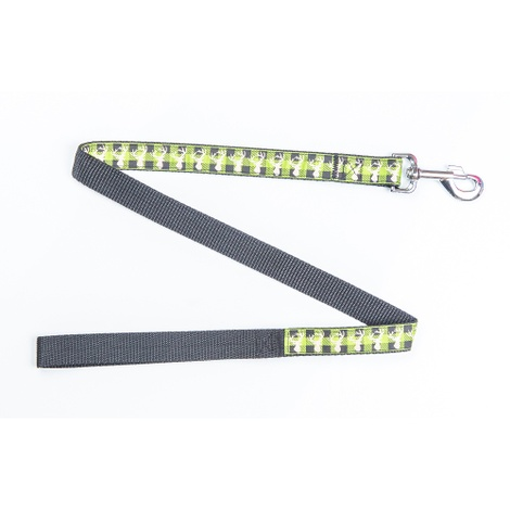 Green Heritage Stag Dog Lead
