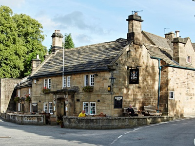 The Devonshire Arms at Beeley, Derbyshire, Beeley
