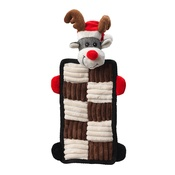 House of Paws - Rudolph Quilted Squeaker Dog Toy