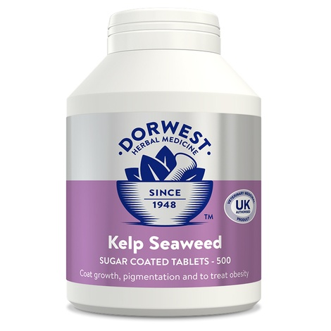 Kelp Seaweed Tablets for Dogs and Cats 3