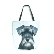 DekumDekum - Miles the Miniature Schnauzer Dog Bag