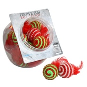Happy Pet - Festive Fun Ball Cat Toy
