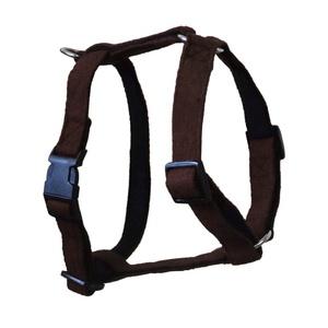 Brown Wool Dog Harness