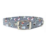 Ditsy Pet - Snowman Buckle Dog Collar