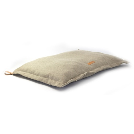 Stonewashed fabric cushion bed - Hammersmith 3