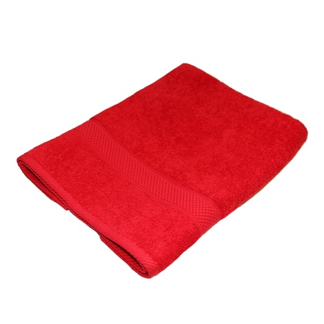 Personalised Towel - Red (Pack of 10) 2