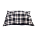 McNulty Personalised Dog Bed - Navy & White