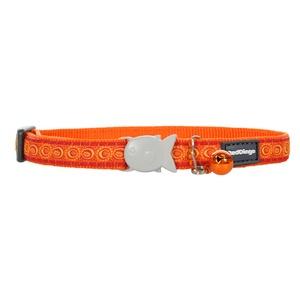 Orange Cosmos Cat Collar