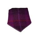 Check Harris Tweed Dog Bandana & Owner Scarf - Fuchsia 3