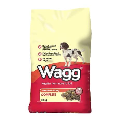 Wagg Original Beef & Veg 12kg