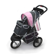 InnoPet - Buggy Comfort with Airfilled Tyres - Pink/Grey