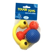 Tough Toys - Tough Toys Rubber Toys Multipack for Puppies