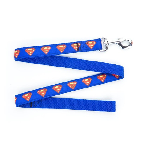 "Superman Dog Lead 1"" Width"