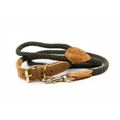 Ralph & Co - Rope lead (braided) - Khaki