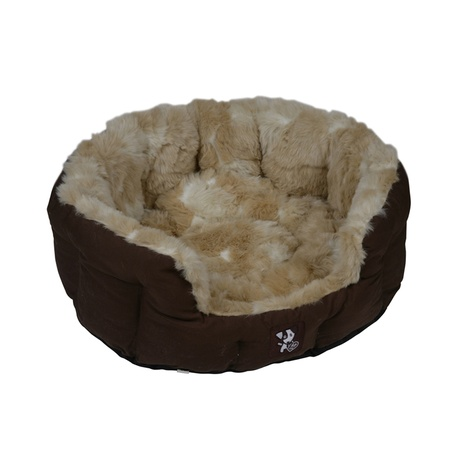 Peluchi Giraffe Oval Dog Bed