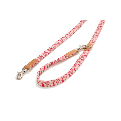 Pink Geo Cafe Dog Lead
