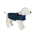 Navy Quilted Waterproof Dog Coat 2