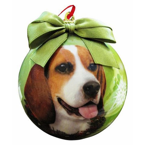 Beagle Christmas Bauble