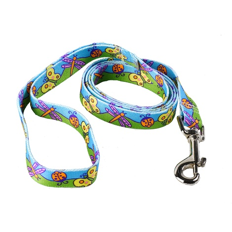 Butterflies Dog Lead