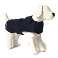 Navy Waxed Waterproof Dog Coat 2