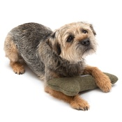Mutts & Hounds - Forest Green Tweed Bone Toy