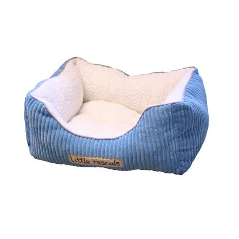 Little Rascals Sweet Dreams Pet Bed – Blue