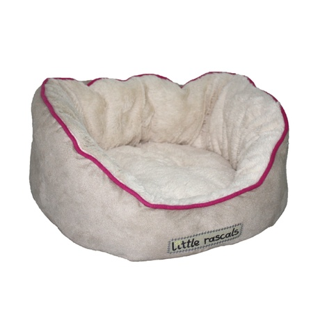 Little Rascals Night Night Pet Bed – Beige