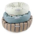 Navy Nordic Stripe Donut Bed 3