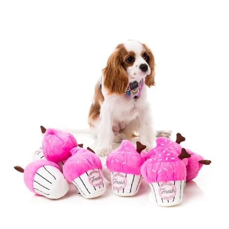 Plush Toy Cupcake - Pink  2
