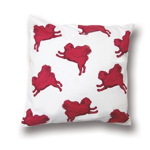 Flying Pug Cushion Cover