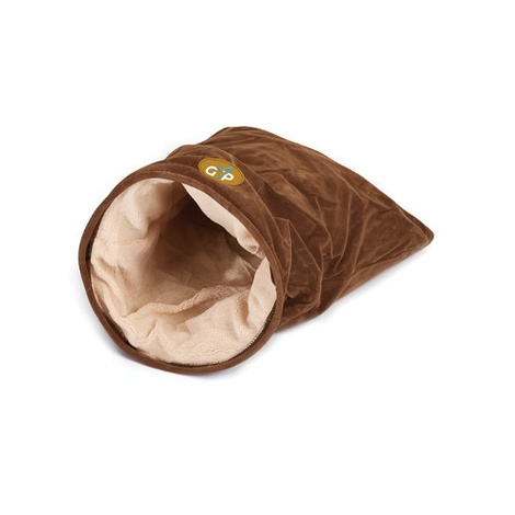 Nordic Crinkle Cat Bag - Brown