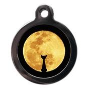 PS Pet Tags - Cat & Moon Cat Tag