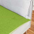 Wool Sofa Topper - Lime 2