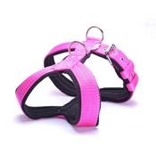 El Perro - 4cm Width Fleece Comfort Dog Harness – Fuchsia Pink