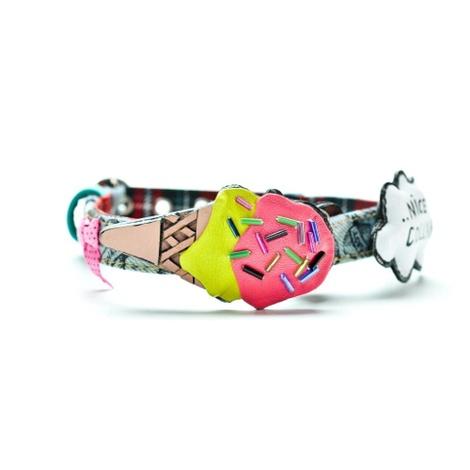 Crazy Ice Cream Dog Collar 2
