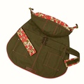 Hampstead Dog Hoodie – Olive & Summer Rose  2