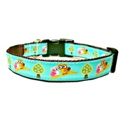 Woof and Meow - Owl Dog Collar