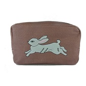 Kate Garey - White Rabbit Cosmetic Bag