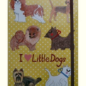 Kate Garey - Little Dogs Notebook