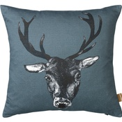 Lisa Bliss - Stag Cushion in Teal