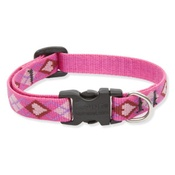 "Collarways - 3/4"" Width Puppy Love Lupine Dog Collar"
