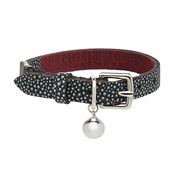 Cheshire & Wain - Luna - Speckled Navy Cat Collar