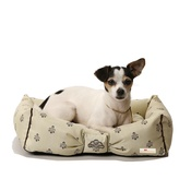 Katalin zu Windischgraetz - Cantatis Dog Bed - Ivory & Tan