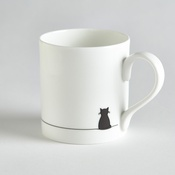 Jin Designs - Sitting Cat Mug