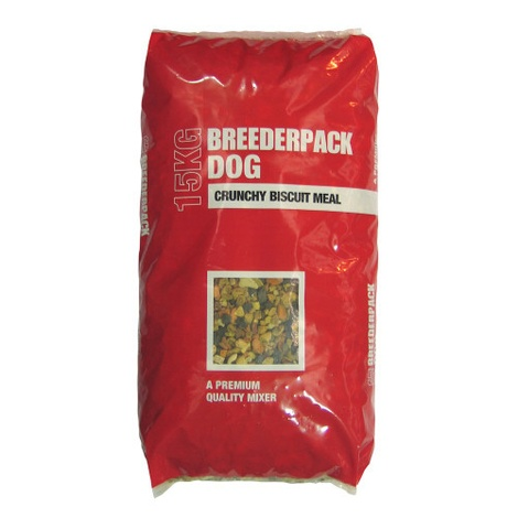 Breederpack Dog Crunchy Biscuit Meal 15kg
