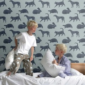 Paperboy - Animal Magic Wallpaper