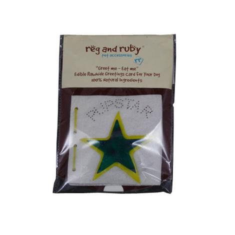 Pup Star Edible Card