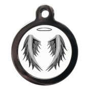 PS Pet Tags - Angel Pet ID Tag