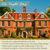 PetsPyjamas - Lainston House Exclusive Two Night Stay Voucher